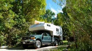 USFS Box Elder Campground north of Ogden, Utah