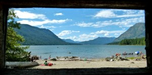Lake Wenatchee (Washington) State Park ... family campground, convenient to Puget Sound