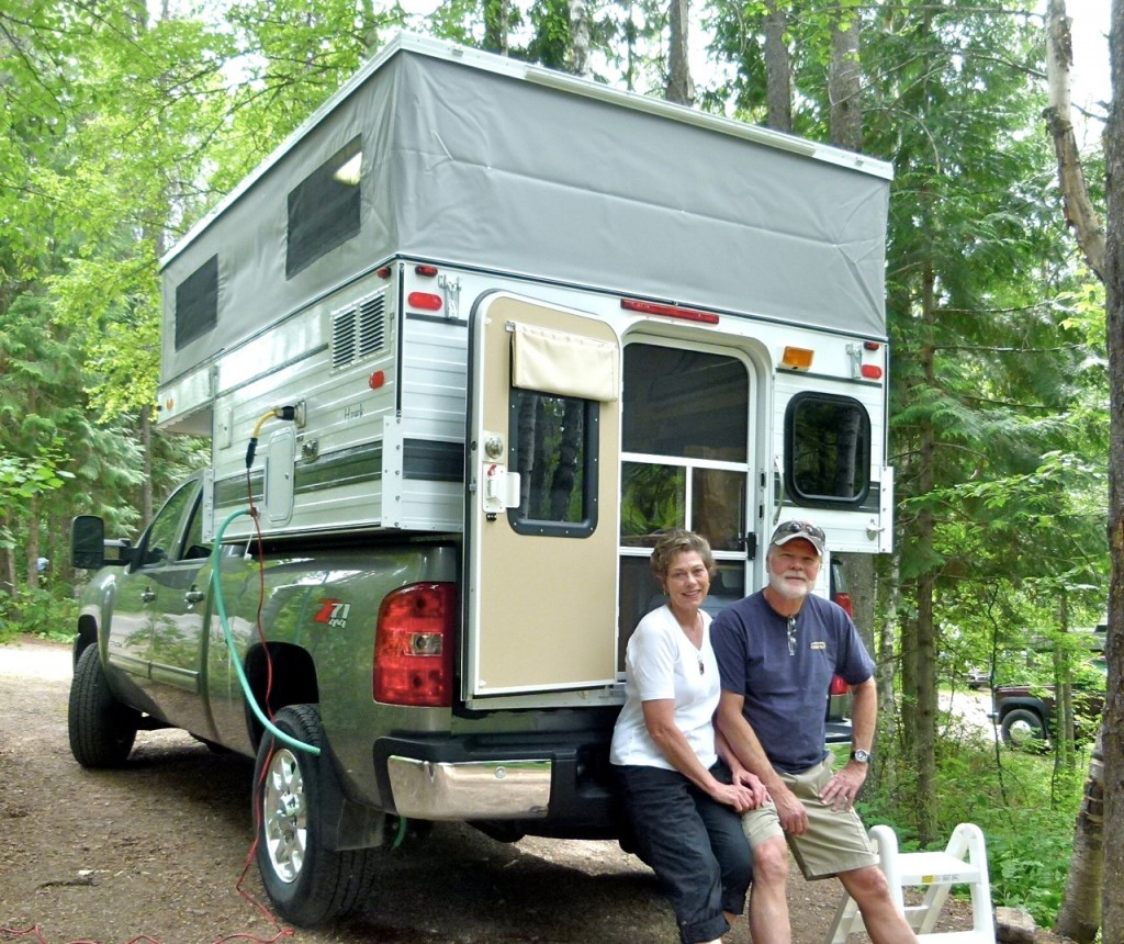 Pop-up truck campers, Part # 3 — 'To go where the big RVs fear to tread'