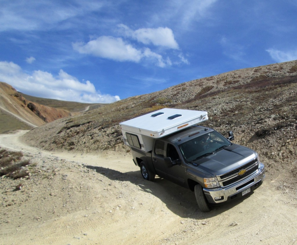 Pop-up truck campers, Part # 1 — 'Perfect backcountry recreation vehicles'