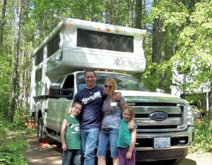Pop-up truck campers, Part # 4 -- 'Ease of exploring remote areas of America with the kids'