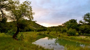 Texas' South Llano River State Park in early autumn