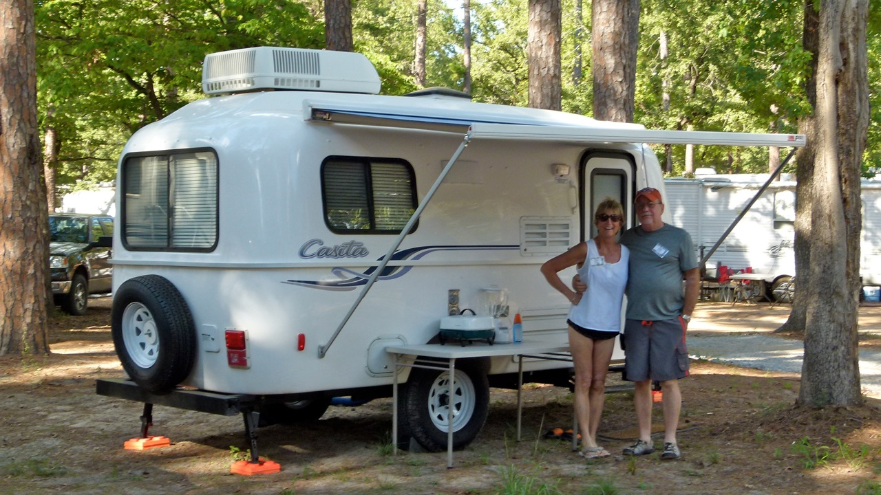2018 Slingshot >> RV Wheel Life » Blog Archive » Molded Fiberglass Trailers, Part 2 — 'Casita is a tight little pod'