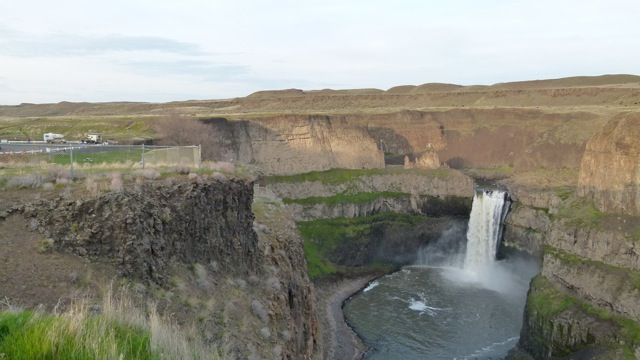 Washington state's Palouse Falls, breathtaking view