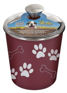 Holiday gift ideas for RVing pets, # 6: Loving Pets' canister, made-in-USA natural treats