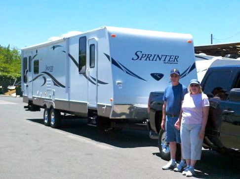 Full-time RVer Lynn Nolan's favorite RV holiday memory – Discovering Santa lived in her RV park