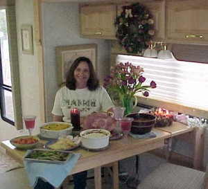Writer Malia Lane shares favorite RV holiday memory – her first RV Christmas dinner