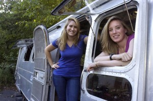 Update on Silver Sistas, those Airstream restoration DYI divas from Manassas, Virginia