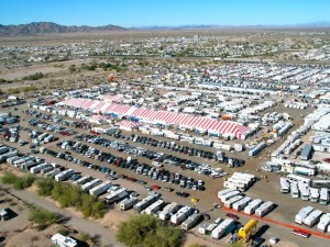 Update on Quartzsite, Part 2 -- 'The Big Tent' RV Show, runs through Jan. 24, 2016