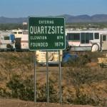 Update on Quartzsite, Part 1 — 'Tyson Wells Shows' are popular destinations for RVers