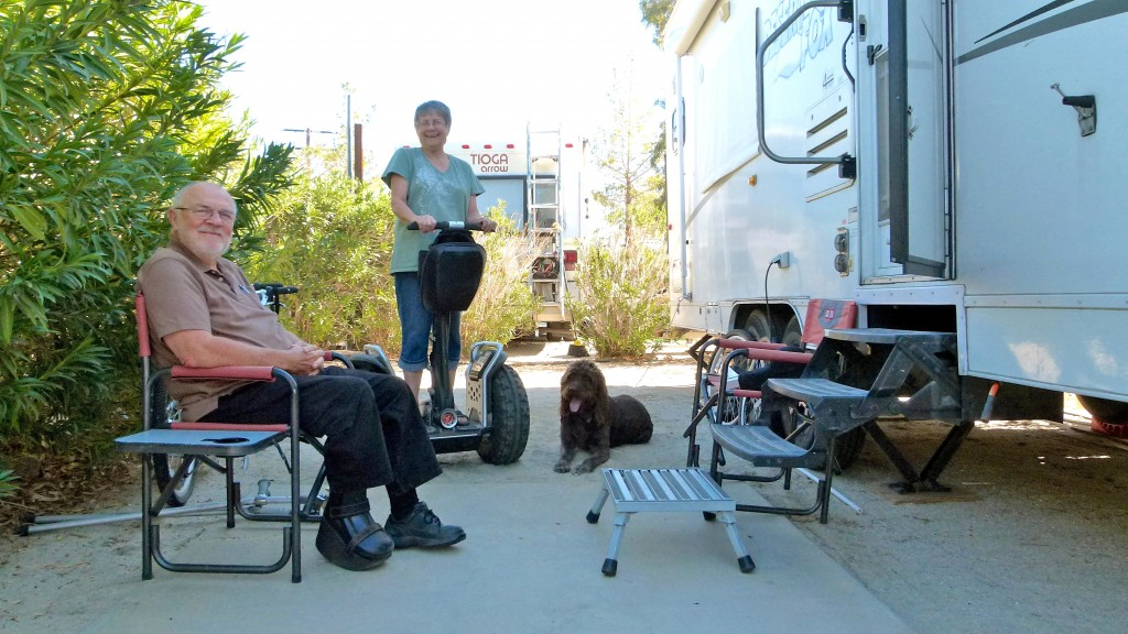 RVing with Special Physical Needs, part 2 — 'Full-time RVers Lori and Mike Sanders travel, play'