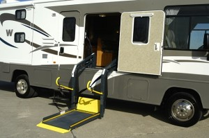 RVing with Special Physical Needs, part 1 -- 'Factory modifications'