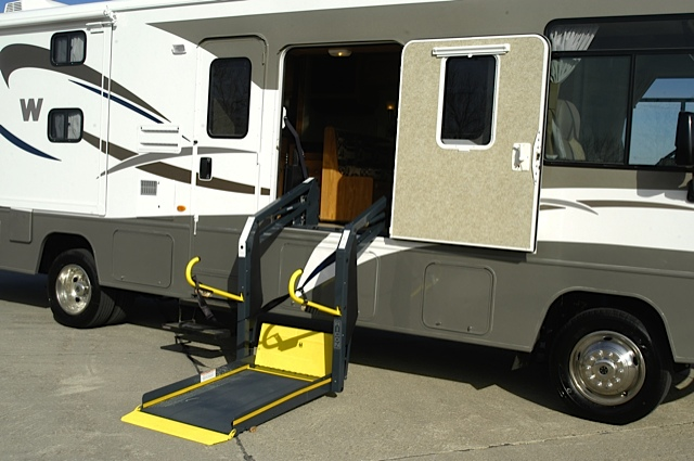 RVing with Special Physical Needs, part 1 — 'Factory modifications'