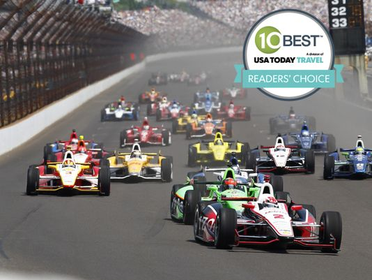 RV camping at Indianapolis 500 (the # 1 'Best Bucket List Sports Event')