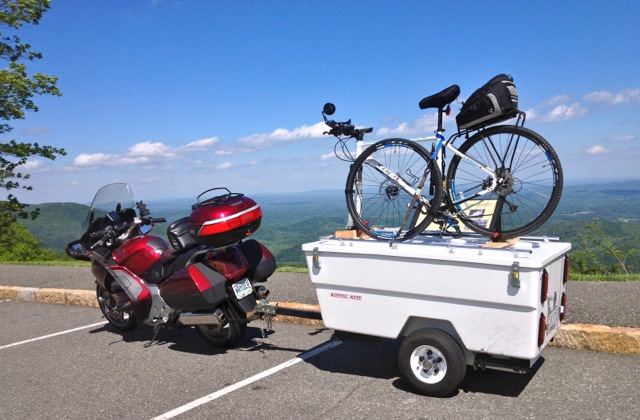 RVing and Motorcycling, part 5: 'Size of motorcycle needed to tow'