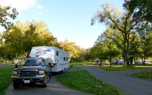 Maryhill State Park, Maryhill Art Museum on the Columbia River = RV Short Stop+camping