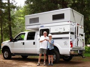 Full-time RVers Thom and Dar Hoch travel scenic byways of Idaho this summer