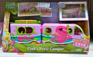 Gift idea: Disney Fairies Tink's Pixie Camper