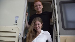 CNN highlights young newlyweds on a grand RV adventure, traveling country, making documentary