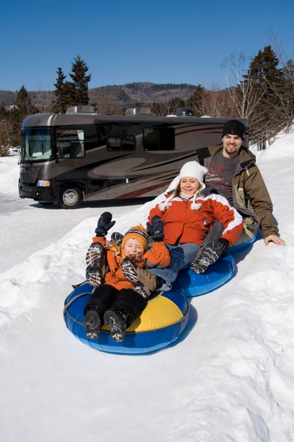 "Winter RVing, part 1 — ""Not much different than summer camping"" says Mike Wendland"
