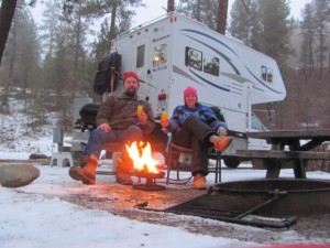Winter RVing, part 2 -- Rich and Joanne Bain don't limit camping to the warm seasons