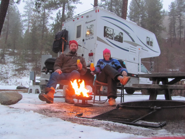 Winter RVing, part 2 — Rich and Joanne Bain don't limit camping to the warm seasons