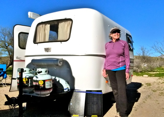 Solo RV snowbird Catherine Woods roams southwest