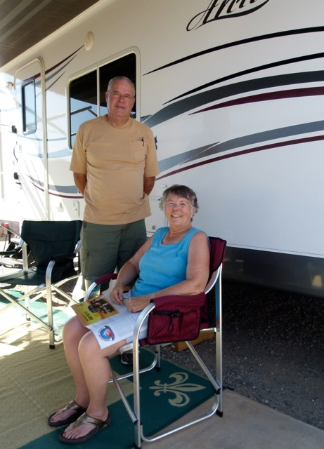 Two weeks in Yuma, new RV friends Pat & Nancy