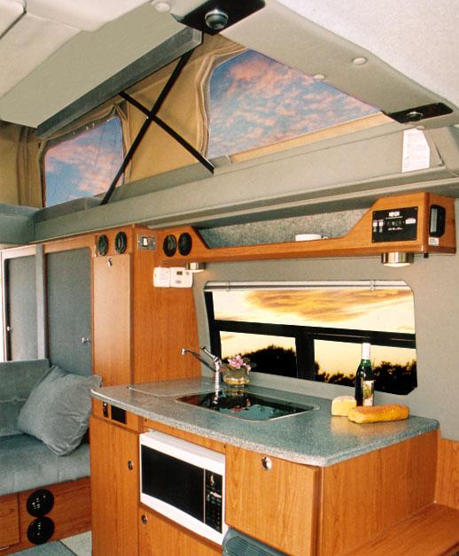 Pop Top Sprinter Penthouse Van Conversion By