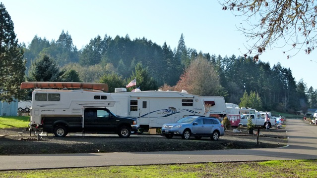 Three RV parks near historic town of Oakland, Oregon