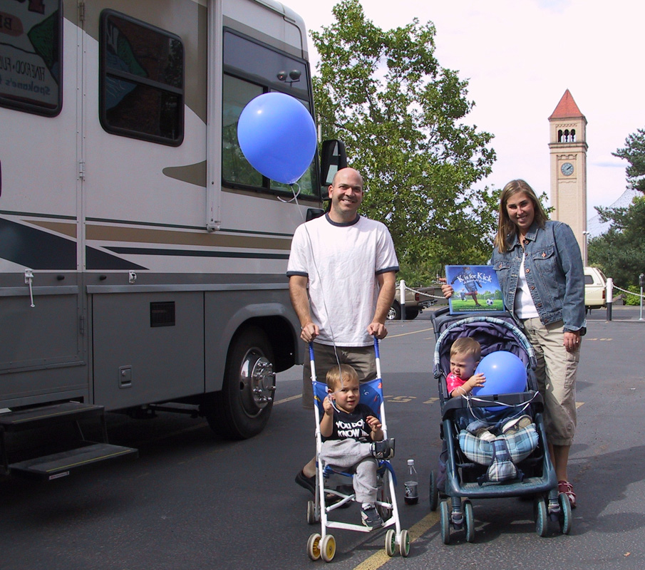 Author, blogger Brad Herzog and wife, Amy, heading out for 17th summer RVing
