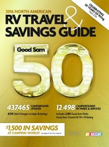 Good Sam 2016 North America RV Travel Guide & Savings Guide aka Campground Directory