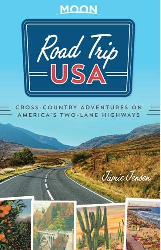 'Road Trip USA' fun guidebook in our RV traveling library