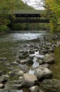 Mohican State Park: Autumn family destination campground in northeast Ohio