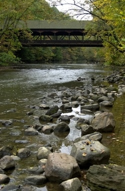 Mohican State Park: Autumn family destination campground in NE Ohio