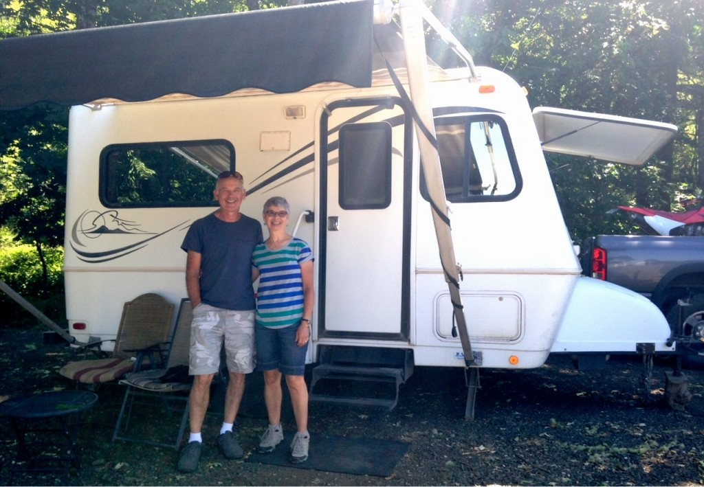 RV snowbirds wheeling south – Part 1: At least a million including Richard and Donna Shrauger