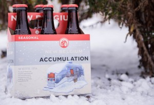 'Accumulation' - New Belgium's Winter Seasonal IPA features stylized Airstream trailer