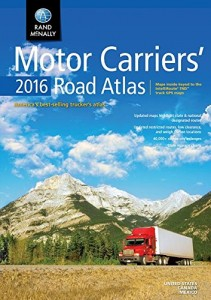 2016 Rand McNally Motor Carriers' Road Atlas
