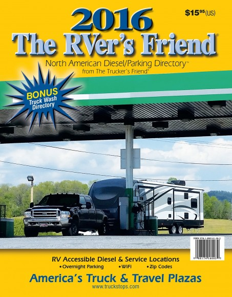 2016 'The RVer's Friend: North American Diesel/Parking Directory'