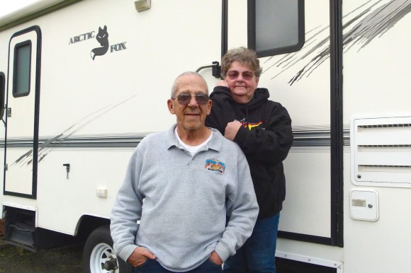RVers love motorsports, Part 4 – 'Donna & Wayne Roberson have a passion for sprint car racing'