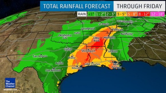 RVers watch for stormy days, flooding across much of mid-America through weekend