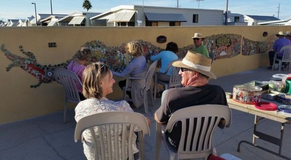RV Snowbirds leave their creative mark in Tucson, Ariz.
