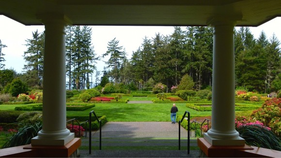 Shore Acres State Park is an Oregon blooming treasure … for family fun, whale watching, romantic walks