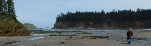 Oregon's Sunset Bay State Park with longtime friends, Sharon and Ron Vail