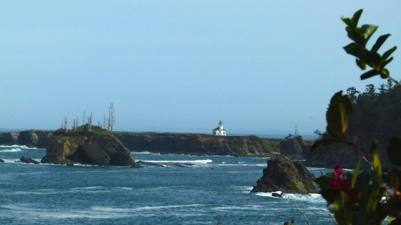 Cape Arago Light near Sunset Beach State Park