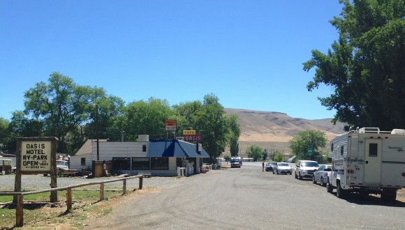 Juntura–a welcomed Oasis in hot, dry eastern Oregon