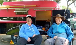 RVing Millennials, part 3: Urban dwellers escape to nature in 8-foot trailer-boat combo