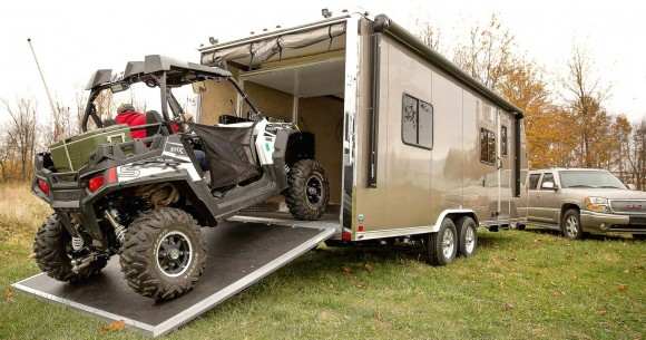 RVs for Autumn, part 4: Sport utility RVs haul motorized toys for active family camping trips
