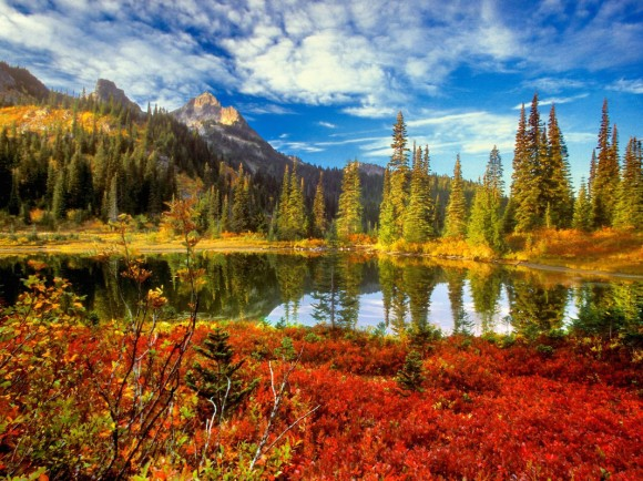 Trekking through Autumn in America's wildlands