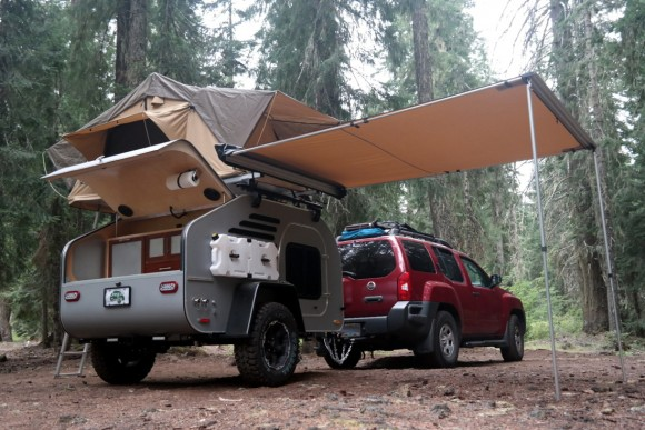 RVs for Autumn, part 3: SUV set embrace tiny, rugged pull-behind teardrop trailer for off-grid camping